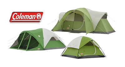 Save An Additional $20 on Coleman Tents and Camping Gear Deals